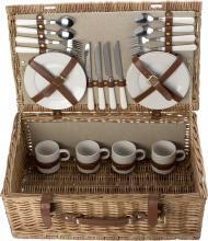 Piknikkosár, 4 személyes