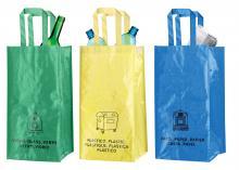 """""""Lopack"""" szelektív hulladékgyűjtő táskák"""