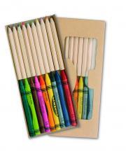 """""""Aladin"""" ceruza és zsírkréta szett"""